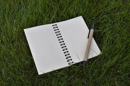 Notitieblok met pen