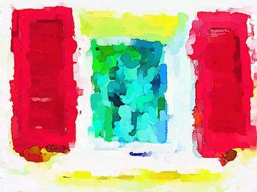 Faces In The Window van Judith Robben