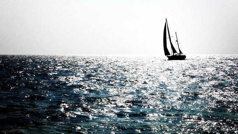Zon op het water van Jan van der Knaap