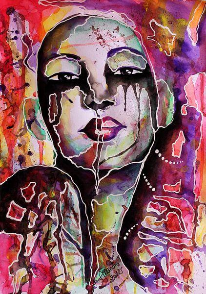 """""""La maschera""""  van Marcella Mandis"""