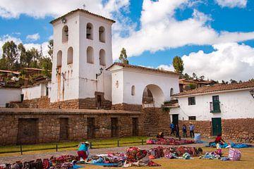 Markt in Chinchero, Peru von Peter Apers