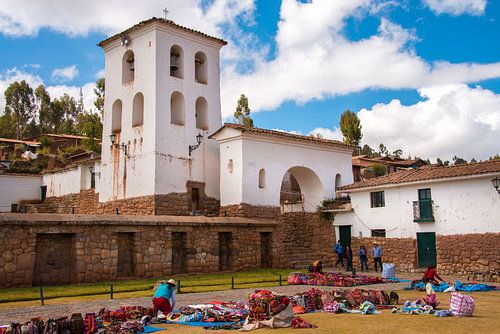 Markt in Chinchero, Peru