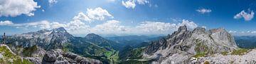"""Bergpanorama """"Dachstein & Gosaukamm"""" von Coen Weesjes"""