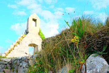 Schotland, ruine van kerkje van
