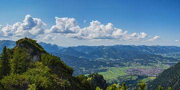 Panorama vanaf de Riefenkopf van