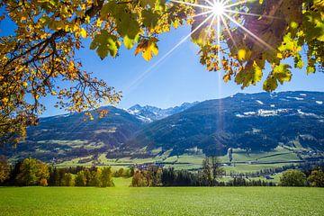 Sonniger Herbsttag in Schladming-Dachstein von Coen Weesjes