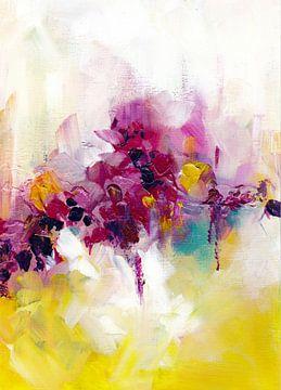 Pink Flowers von Maria Kitano