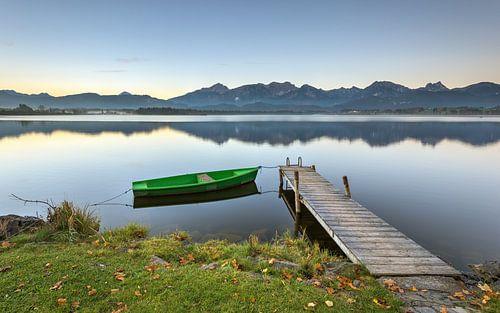 A peaceful morning at Hopfensee van Michael Valjak