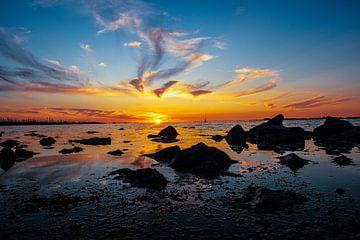 Sonnenuntergang an der Westerschelde