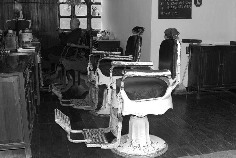 Friseursalon China von Inge Hogenbijl