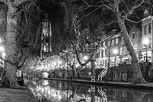 Utrechtse gracht en dom  van