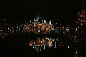 Amsterdam in der Nacht von Lindy Schenk-Smit