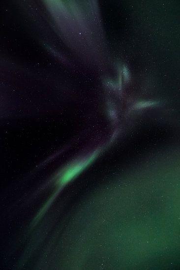 Aurora Borealis, Noorderlicht of Poollicht van Hans Kool