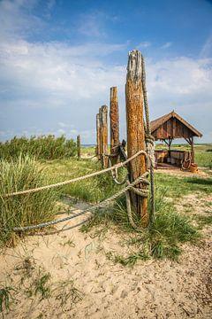 Verlaten strand von Lotte Klous