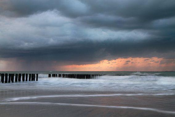 Westerschelde  -  Long exposure   van Vandain Fotografie