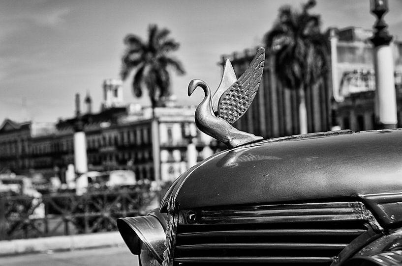 Havanna -  motorkap-ornament van klassieker van Theo Molenaar