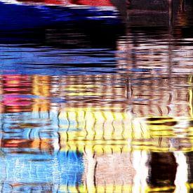 water colors blue van Yvonne Blokland