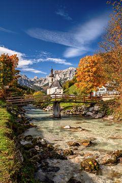 Herfst in Berchtesgadener Land van Achim Thomae
