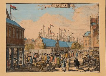 Rotterdam, 1695, de Beurs van Atelier Liesjes