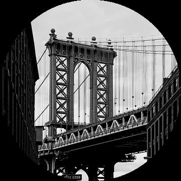new york city... Manhattanbrug III van Meleah Fotografie