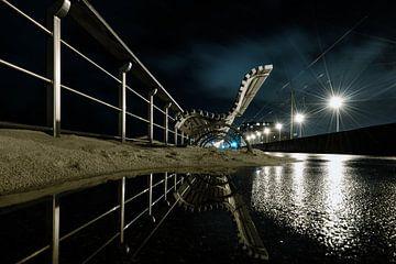 Een bank op de zeedijk van Rik Verslype