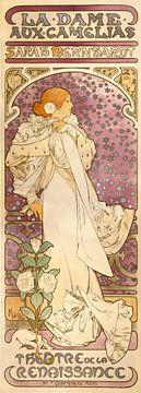 La Dame Aux Camélias, Alphonse Mucha