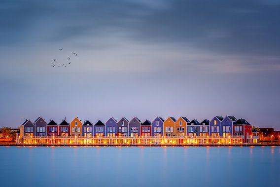 Rainbow Houses van Michiel Buijse