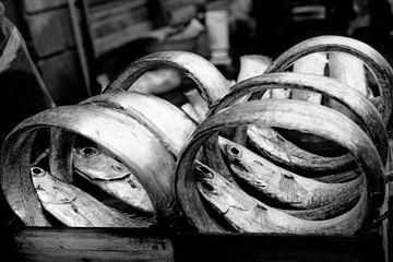 Vismarkt Catania van Liesbeth Govers voor omdewest.com