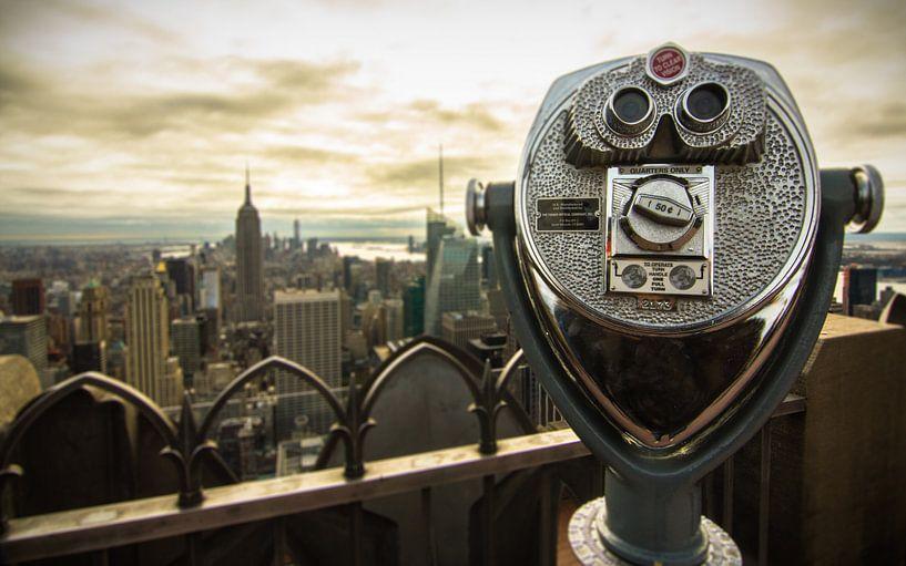 Take a look over the city van Fabian Bosman