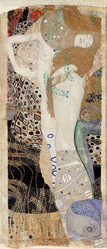 Freunde (Wasserhosen), Gustav Klimt