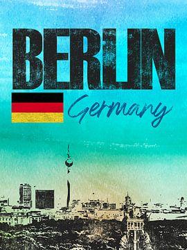 Berlin sur Printed Artings
