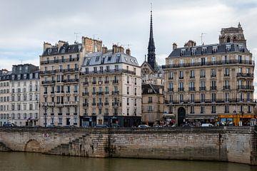 Uitzicht op de kades van Parijs van OCEANVOLTA