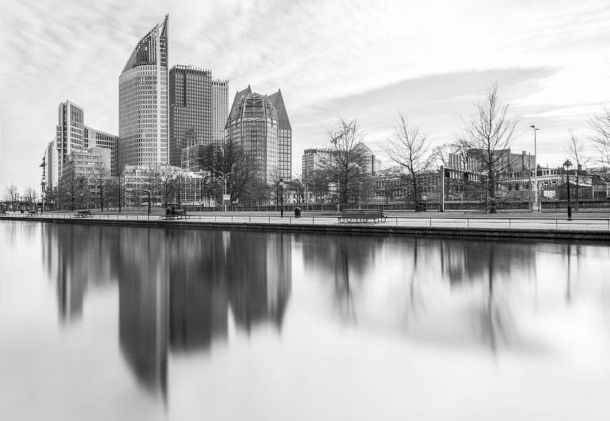 De skyline van Den Haag van MS Fotografie
