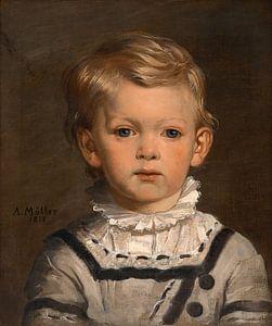 Paul Klob, später Oberst, im Alter von drei Jahren, Anton Müller