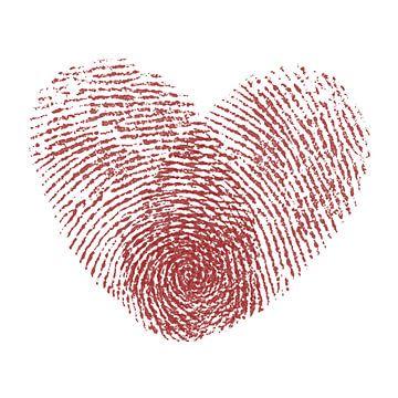 De liefde.... net zo complex en uniek als een vingerafdruk van Natalie Bruns