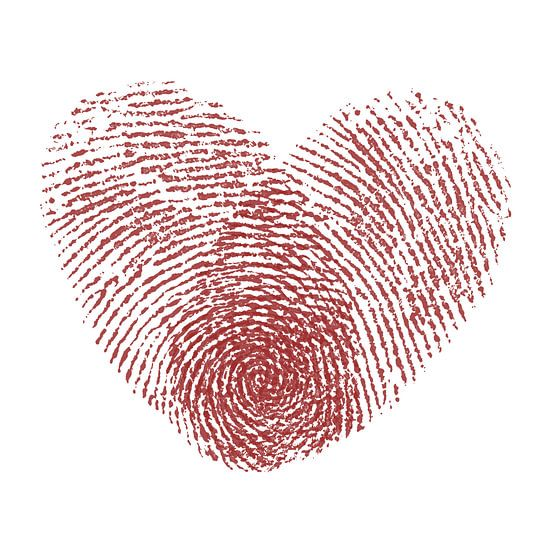 De liefde.... net zo complex en uniek als een vingerafdruk