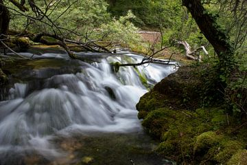 Watervallen Vevceni von Tilja Jansma