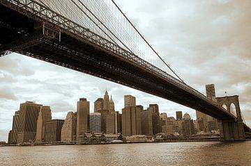 New York Brooklyn Bridge van Peter Pijlman