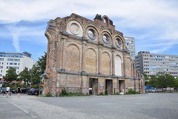 Fassade des ehemaligen Berliner Anhalter Bahnhofs von Jeroen Franssen