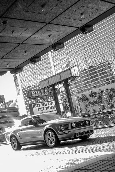 Ford Mustang GT in Las Vegas - USA van Ricardo Bouman | Fotografie