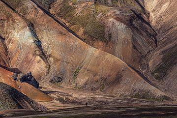Landmannalaugar in IJsland van Thomas Heitz