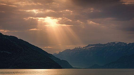 Zonsopkomst Thunersee