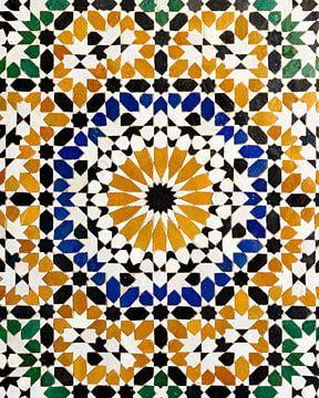Marokkaans mozaïek van Jaap Ros