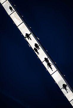 ombres sur le pont sur Stefan Havadi-Nagy