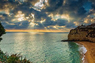 Miradouro de Senhora da Encarnação, Algarve. von Patrick Vercauteren
