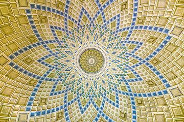 Moskee koepel mozaïek van Joost Potma