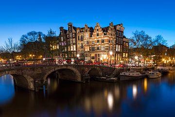Prinsengracht/Brouwersgracht Amsterdam, café Papeneiland van