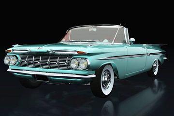 Chevrolet Impala 1959 pistache von Jan Keteleer