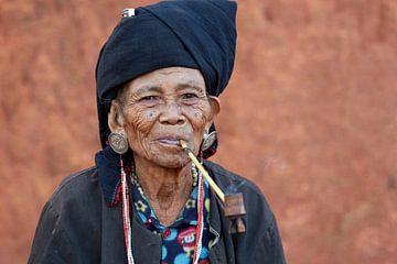 Roken, Keng Tung, Myanmar (Birma) van Jeroen Florijn