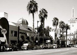 Hollywood Boulevard, Los Angeles, California van